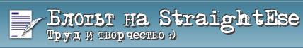 Блогът наStraightEse
